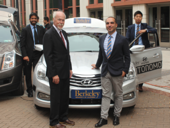Research on the Berkeley Autonomous Car Recognized by the US Secretary of Transportation