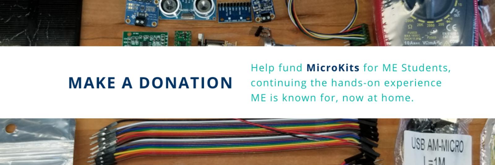 MicroKit Donation Banner