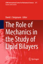 The Role of Mechanics in the Study of Lipid Bilayers