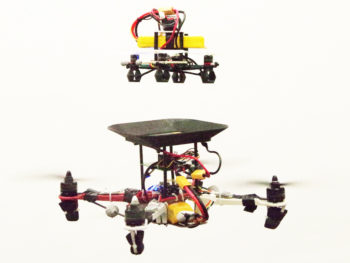 Swappable Flying Batteries Keep Drones Aloft Almost Forever