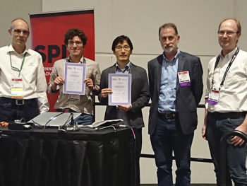 ME PostDoc Jeongmin Kim Wins 2019 PicoQuant Young Investigator Award at SPIE BiOS